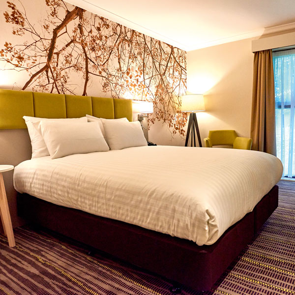 Our all-new standard double and twin rooms are air-conditioned and finished to a high standard of comfort and design.