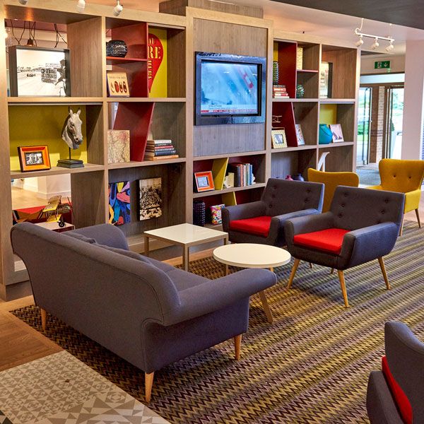 Relax in our comfy armchairs and enjoy our choice of books, magazines and board games for quieter relaxation.